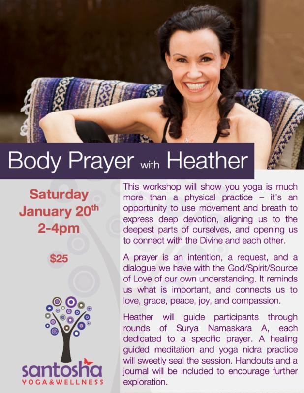 Body Prayer with Heather